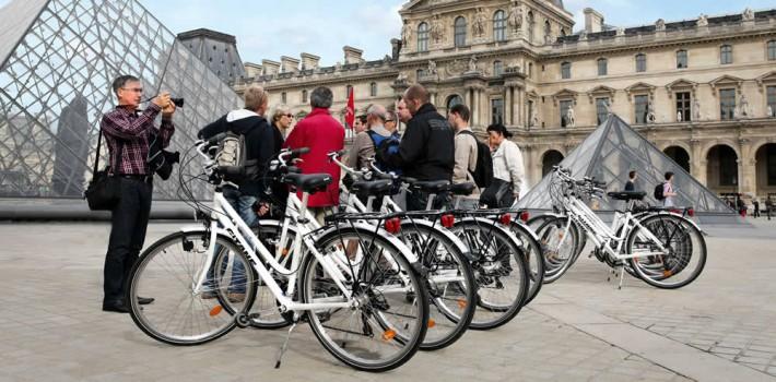 visite paris éternel à vélo