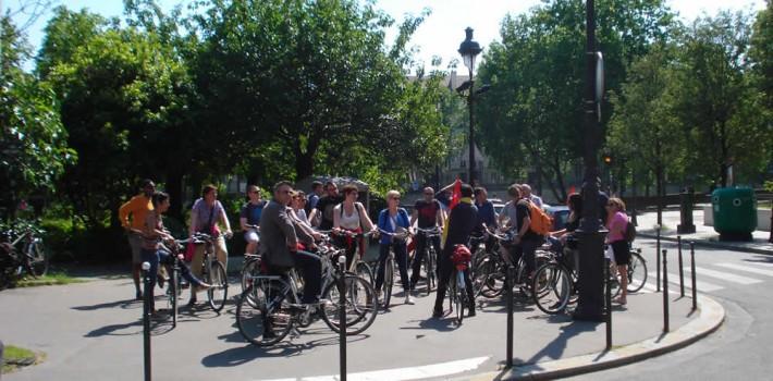 Visite guidée rive gauche paris à vélo