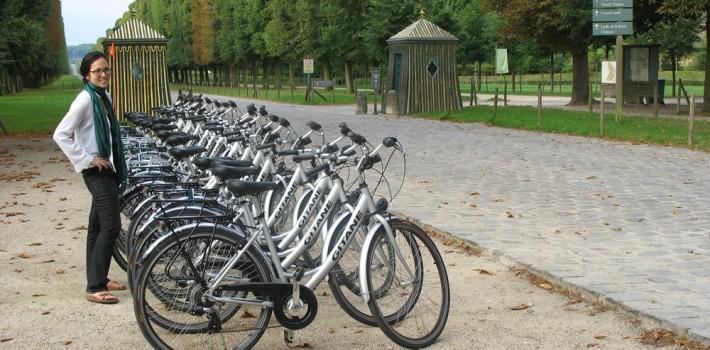 visiter versailles france à vélo