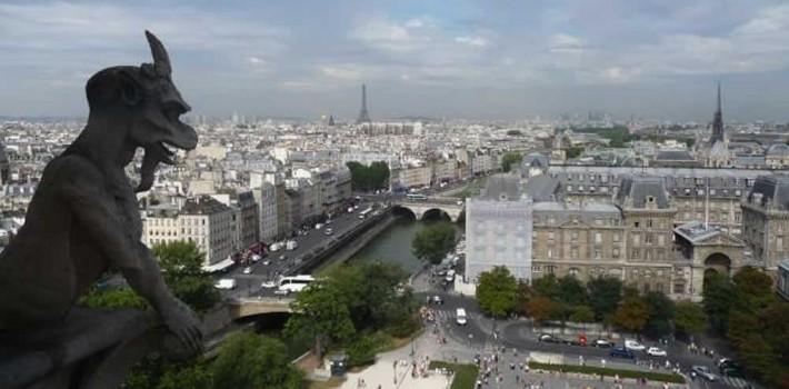 Visiter cathédrale Notre dame de Paris à vélo