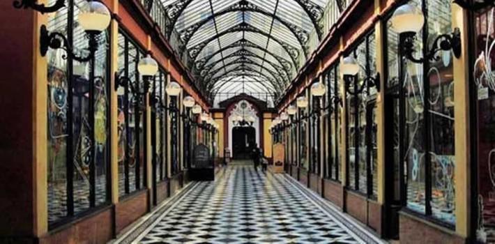 visite des passages couverts de Paris
