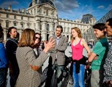 Combo-Tour: Fahrrad-Tour + Louvre Museum