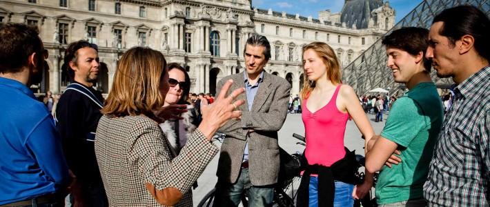 Exclusive Bike Tour  Bike Tour + Louvre Museum