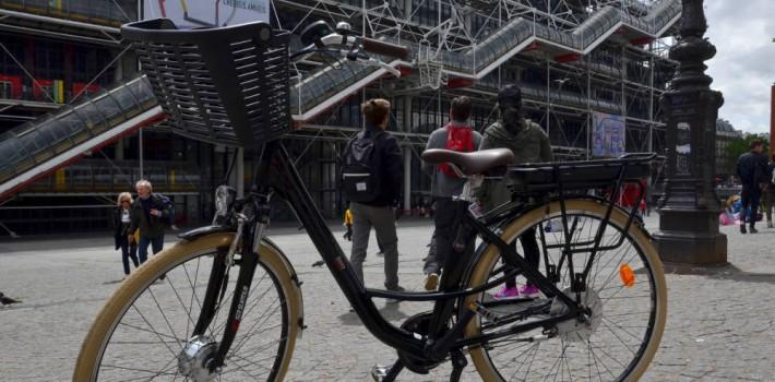 Visite guidée à vélo Paris en Électrique
