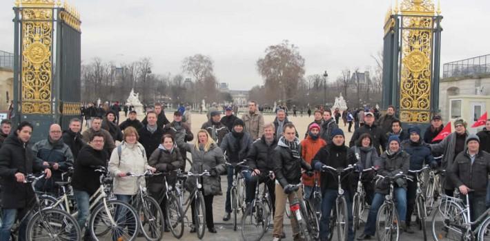 événement à vélo pour institutionnel