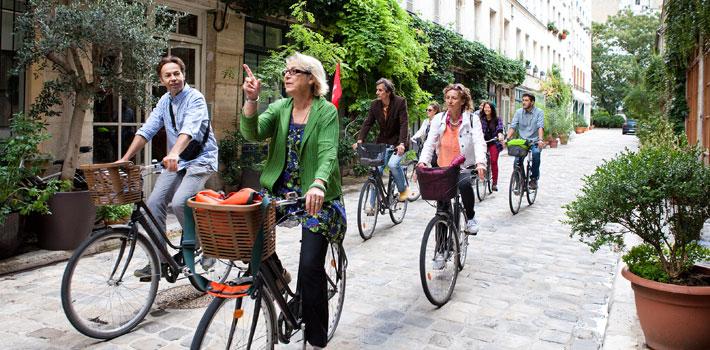 Paris des parisiens à vélo