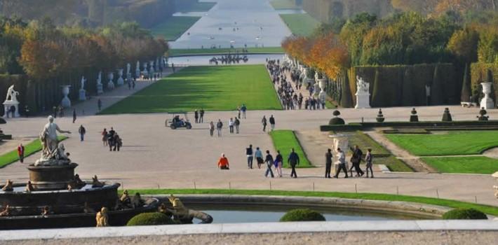 Visite guidée Versailles à pieds