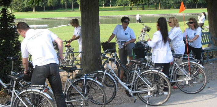 visite de versailles à vélo