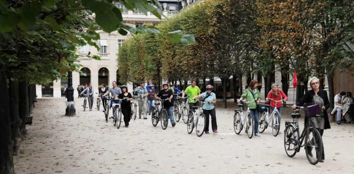 visite à vélo + musée paris