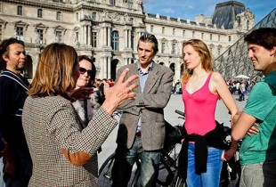 Combo Guided Bike TourBike Tour + Louvre Museum