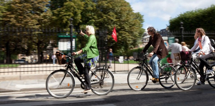 E-bike tour ParisParis ohne Anstrengung