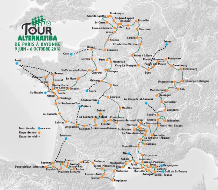 Paris – Tour Alternatiba 2018